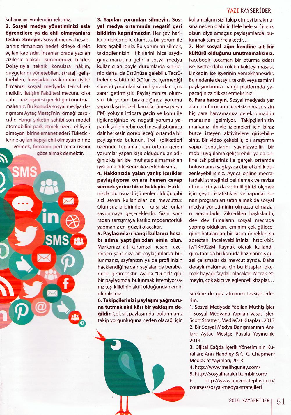 Sosyal Medya Yönetiminde Sıklıkla Yapılan Hatalar ve Kobilere Tavsiyeler