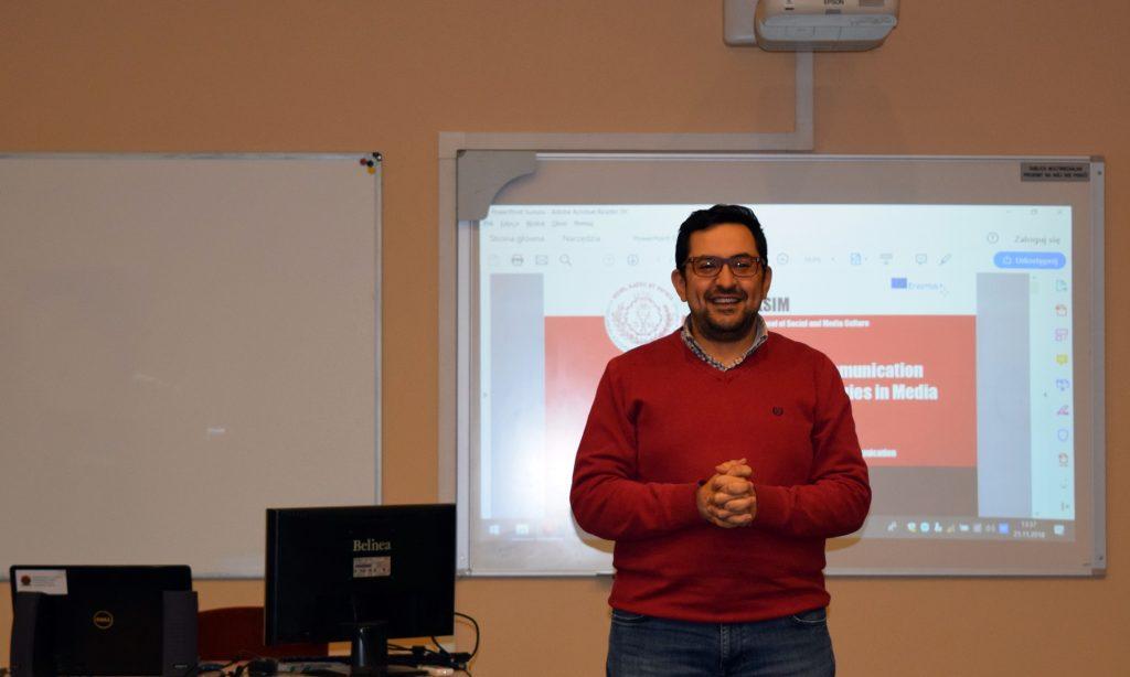 Mustafa Cıngı in WSKSIM, Higher School of Social and Media Culture